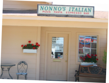 Nonno's Italian Café - Kind of a hole-in-the-wall looking place out in the middle of nowhere, but they host WONDERFUL wine tastings, beer tastings, all-you-can-eat pizza nights and other fun things - and you can also play bocce ball out back!