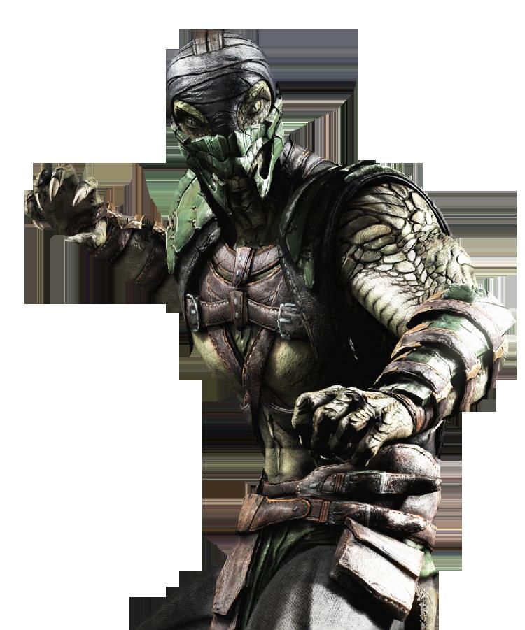 Reptile Mkx Mortal Kombat X Tournament Costume Skin Render Png 750 901 Mortal Kombat Rpg