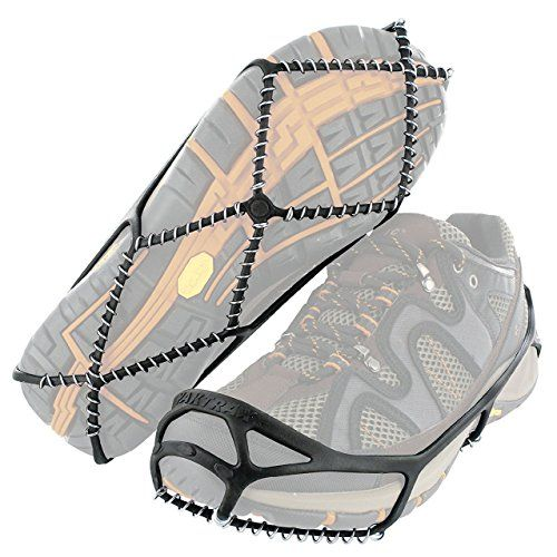 Yaktrax Walk Traction Cleats for Walking on Snow and Ice Small  Health  and Nutriton