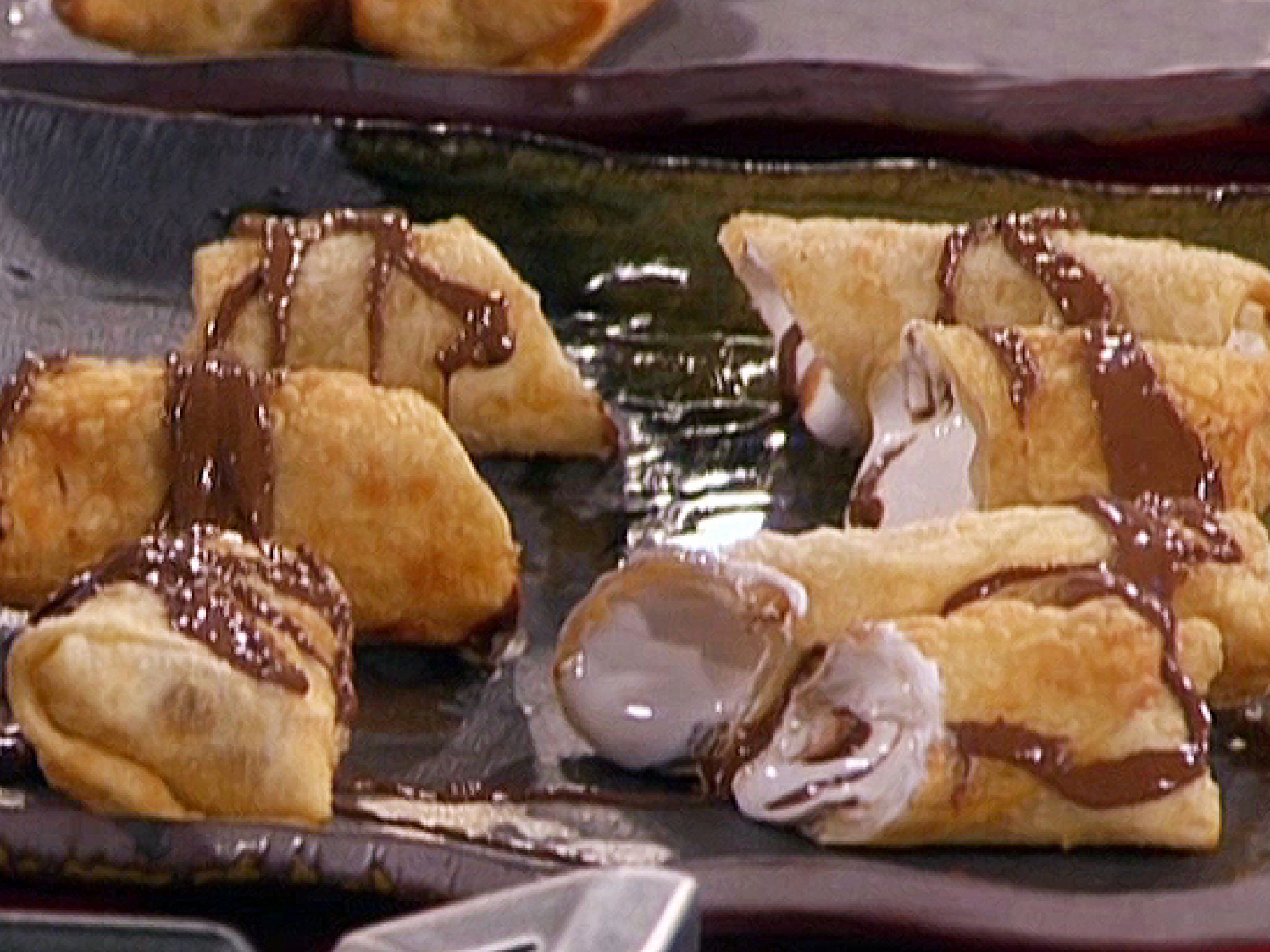 Smore eggroll recipe guy fieri food and recipes cooking ideas smore eggroll recipe from guy fieri via food network forumfinder Image collections