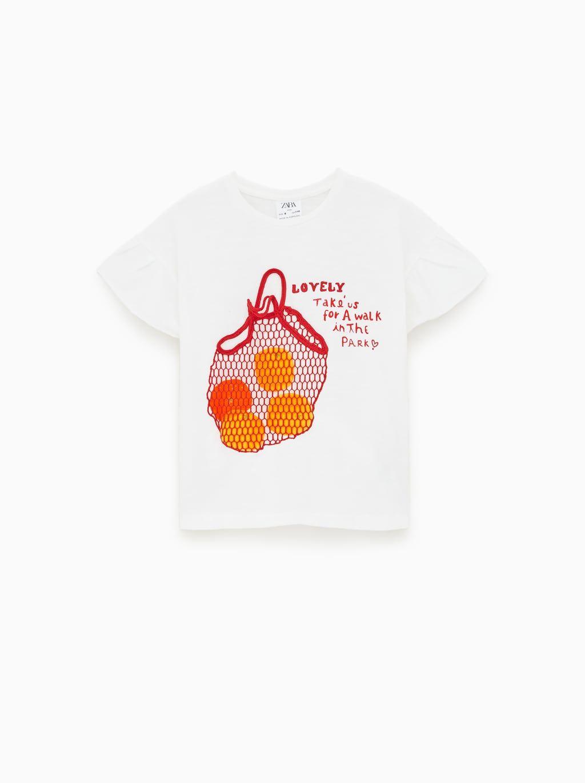 0edfe44f Orange slice vest top   童装   Orange t shirts, Orange shirt, Zara