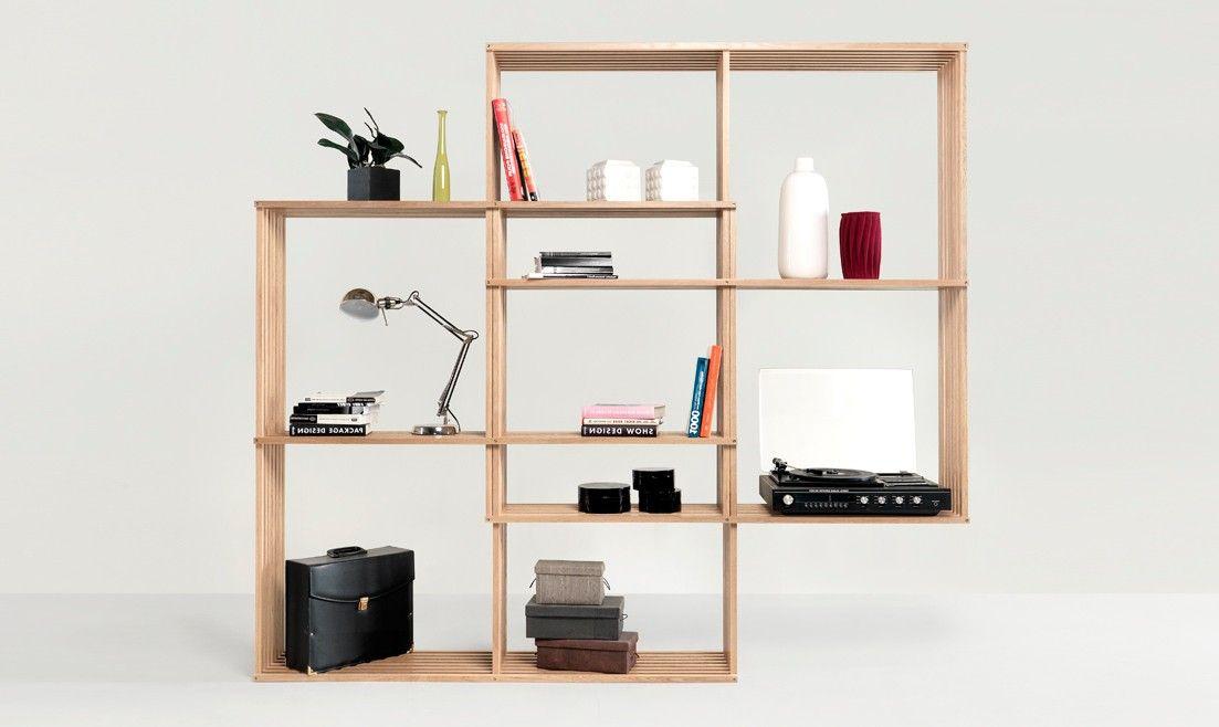 estantera moderna x2 en mbar muebles
