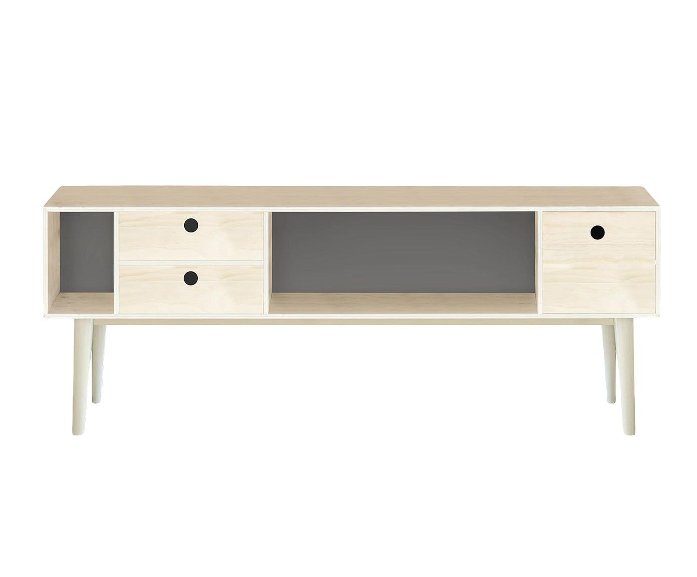 Mueble Tv Gris 120×47 Cm Westwing Home Living Muebles  # Muebles Lifestyle