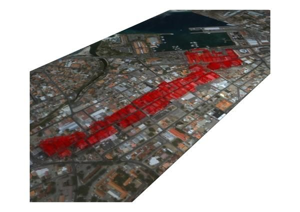 Urban renovation main street Aruba by Oscar Acosta, via Behance