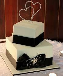 2 Tier Square Wedding Cakes