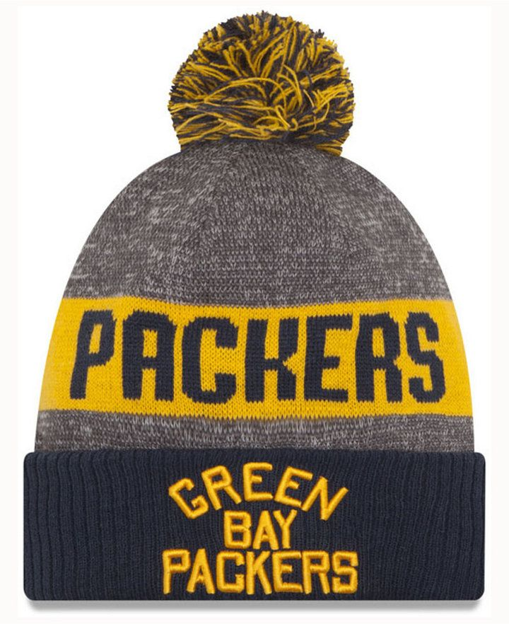 0fd7b5872b64bb New Era Green Bay Packers Classic Sport Knit   Sports Gear   Green ...