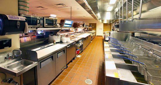 Burger Restaurant Kitchen Layout islands restaurants- kitchen design and equipment provided
