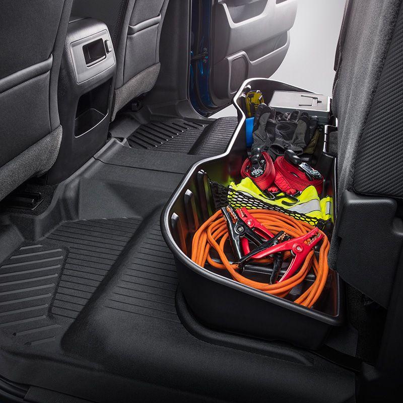 Swell 2016 Sierra 1500 Rear Underseat Storage Organizer Ebony Beatyapartments Chair Design Images Beatyapartmentscom