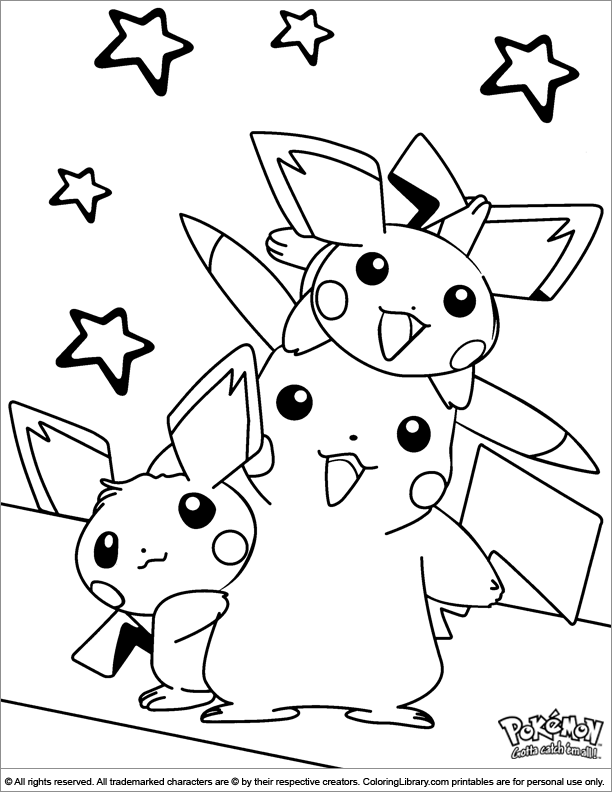 Pokemon Coloring Picture Pokemon Coloring Pokemon Coloring Pages Coloring Books