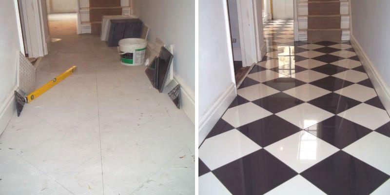 Charming 1 Inch Hexagon Floor Tiles Thick 12X24 Floor Tile Solid 13X13 Ceramic Tile 2X4 Subway Tile Old 4 Tile Patterns For Floors Fresh6 X 12 White Subway Tile Black \u0026 White Hallway Tiles   Google Search | Hallway | Pinterest ..