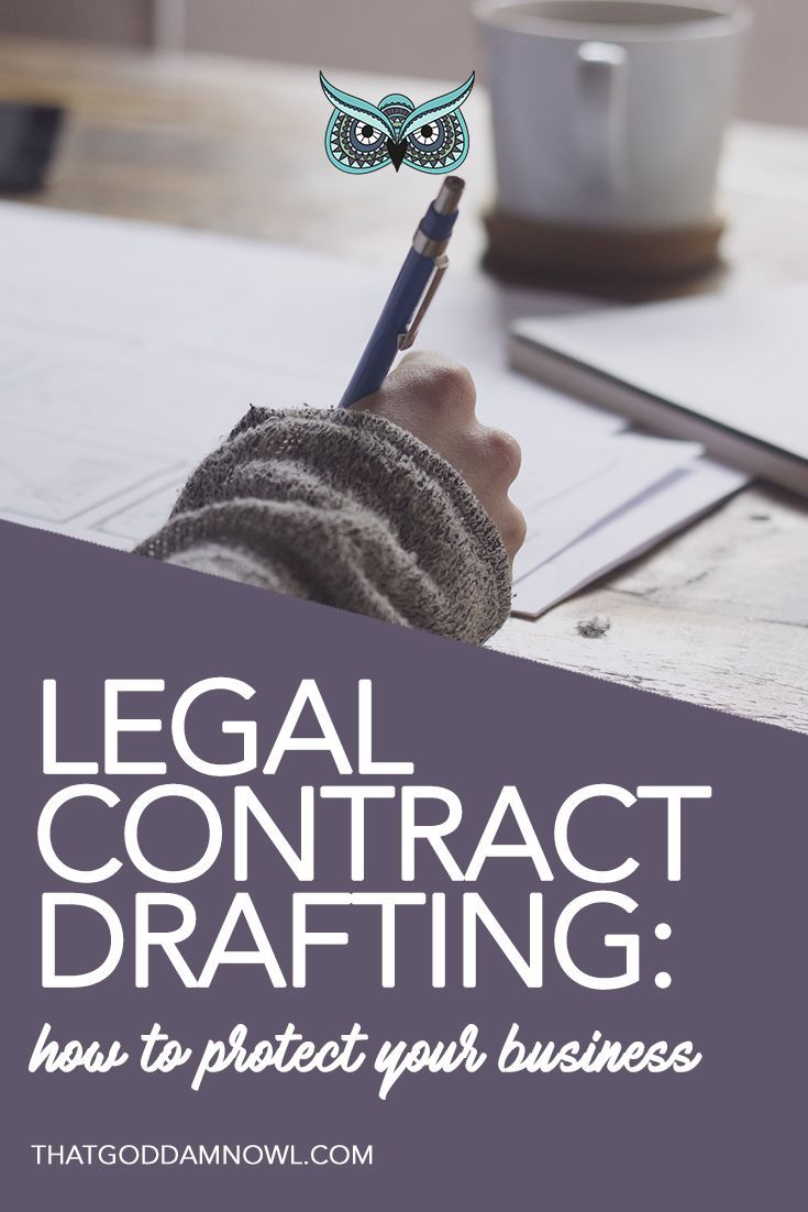 Basic Yet Important First Steps To Drafting A Contract Http