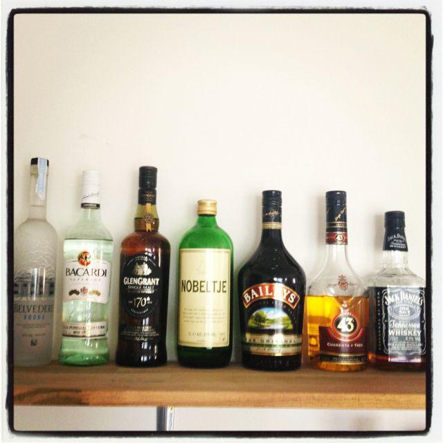 #drinks#bottles#kitchenshelve