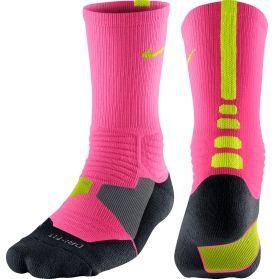 YELLOW/PINK   Basketball socks, Nike elite socks, Elite socks