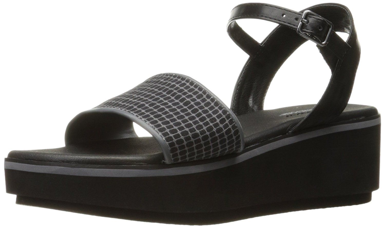 53bbd6b6fd6 Skechers Cali Women s Hushhush Platform Sandal. Geometric quarter strap  sandal with luxe foam. Women s Shoes