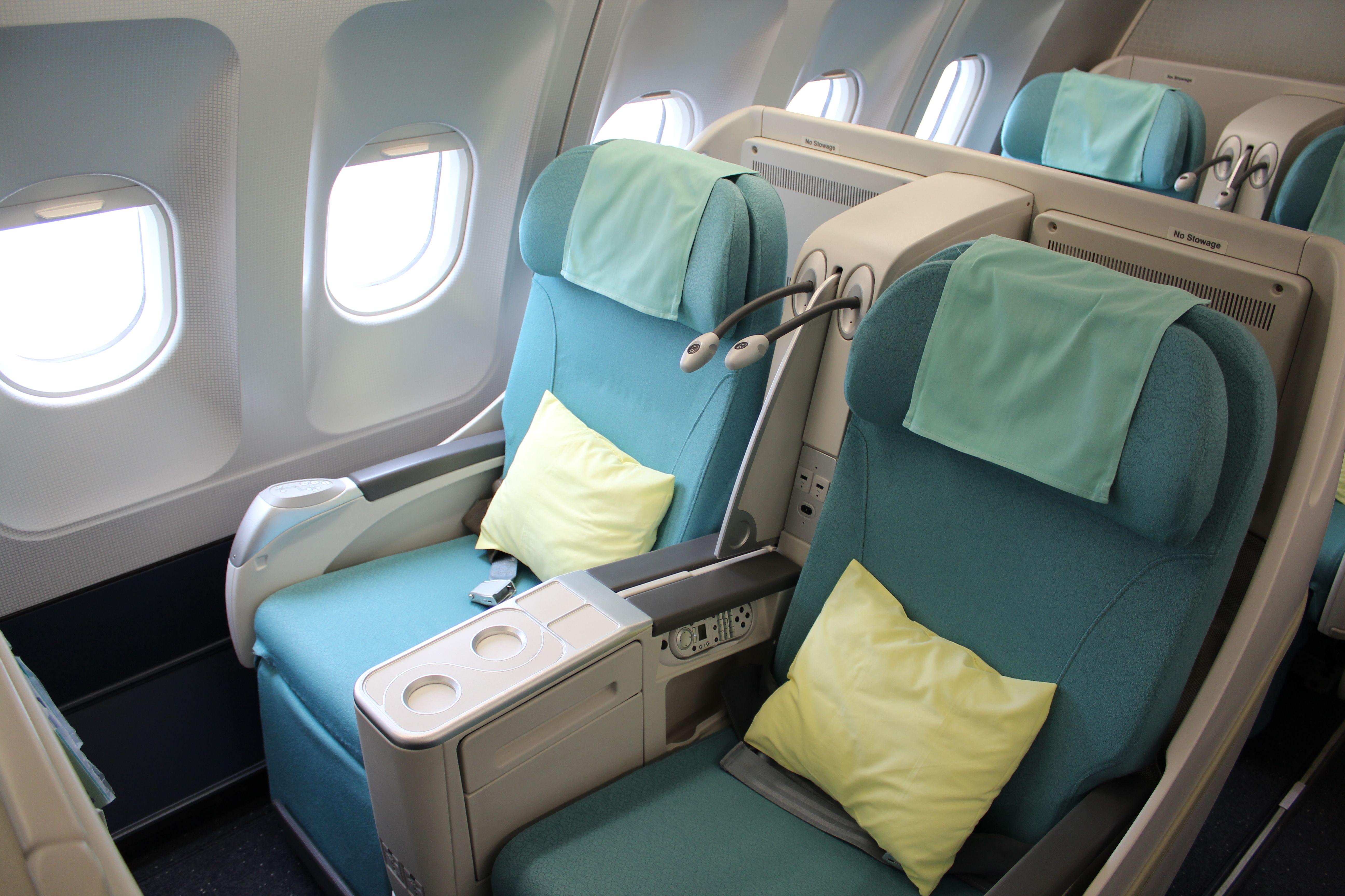 Korean Air A330200 Business Class Sleeper Seat Airlines