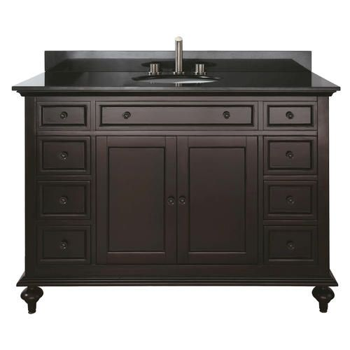 Avanity merlot 48 vanity combo at menards master bath - Menards bathroom vanities 48 inches ...