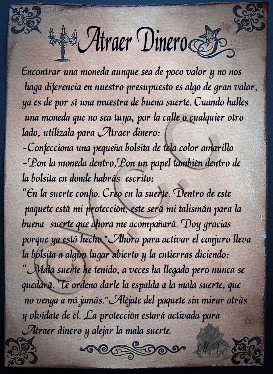 Trastos De Bruja Atraer Dinero Hechizos De Dinero Libros De Hechizos Hechizos De Magia Blanca