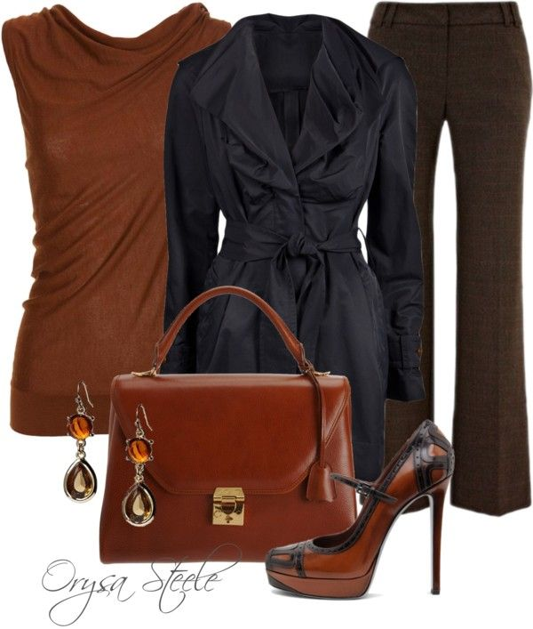 """""""Shades of Fall"""" by orysa on Polyvore"""
