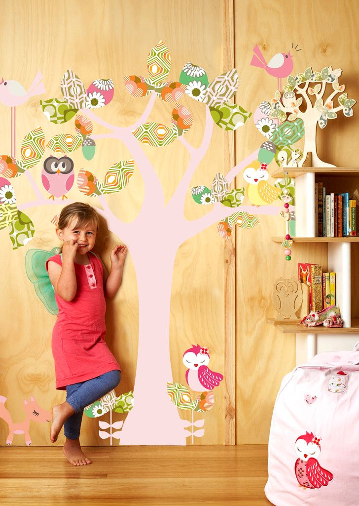 Enchanted Tree (Large) Wall Decal-Wall Sticker by Cocoon Couture ...