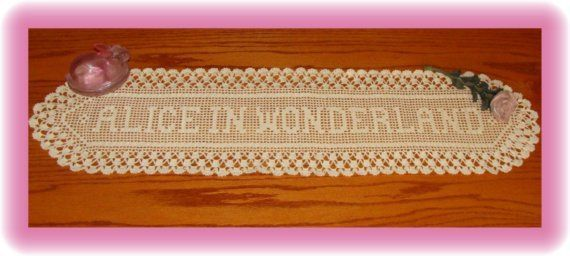 New Triple Crowns Crochet Name Doily Unlimited Letters #crownscrocheted New Triple  Crowns Crochet  Name Doily         crochetby51bebe #crownscrocheted