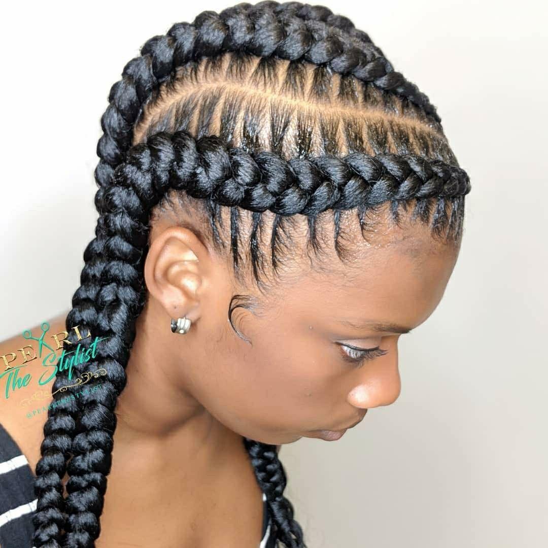 Pin by shatima kemp on hair in pinterest braids braided