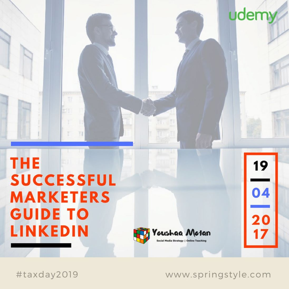 Join me in the launch promotion of my new Udemy workshop - The Successful Marketers Guide to Linkedin and get the $55 course for $10 on an early bird one-off launch price.Link in Bio to Enroll About the course:  In this class you will:  Increase brand awareness on Linkedin Influence perception Learn the 4-1-1 Method! Generate high-quality leads and Ultimately drive revenue with LinkedIn. Gain tips and practical strategies to tap into the power of Linkedin. We will cover organic and paid ads…
