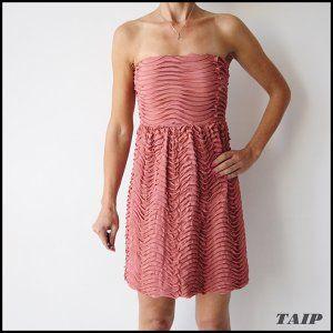Zara Zjawiskowa Lososiowa Sukienka 38 6327755464 Oficjalne Archiwum Allegro Dresses Fashion Strapless Dress