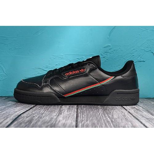 Buy Adidas Continental 80 Men Black Red