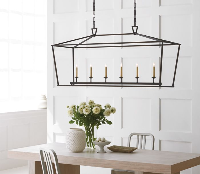 Lovely Perryton Linear Chandelier by Sea Gull Lighting