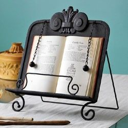 Architectural Cookbook Stand wonder when they will make these for ipads! lol I do love the real book though