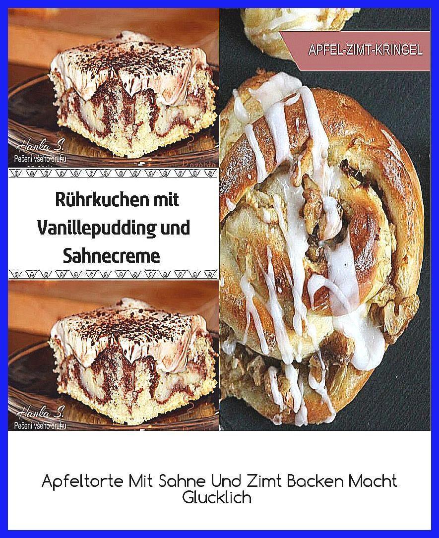 Photo of Apfeltorte Mit Sahne Und Zimt  Backen Macht Glucklich #bratapfeltiramisu Rührku…