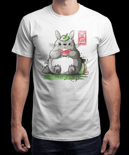 """""""My neighbor watermelon"""" is today's £9/€11/$12 tee for 24 hours only on Pin this…   Qwertee thumbnail"""