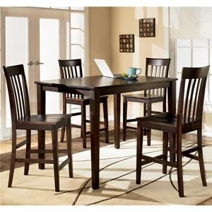5 Piece Counter Height Set Nebraska Furniture Mart 320 Dinette Sets Counter Height Dining Room Tables Dining Room Sets