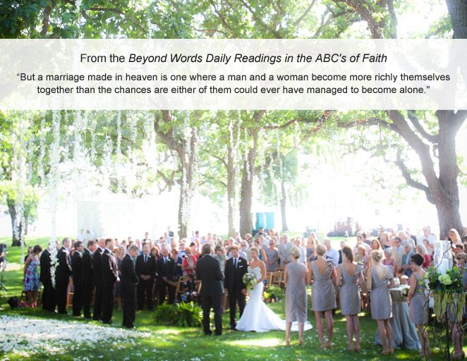 Ceremony readings you ll love daily readings wedding vows