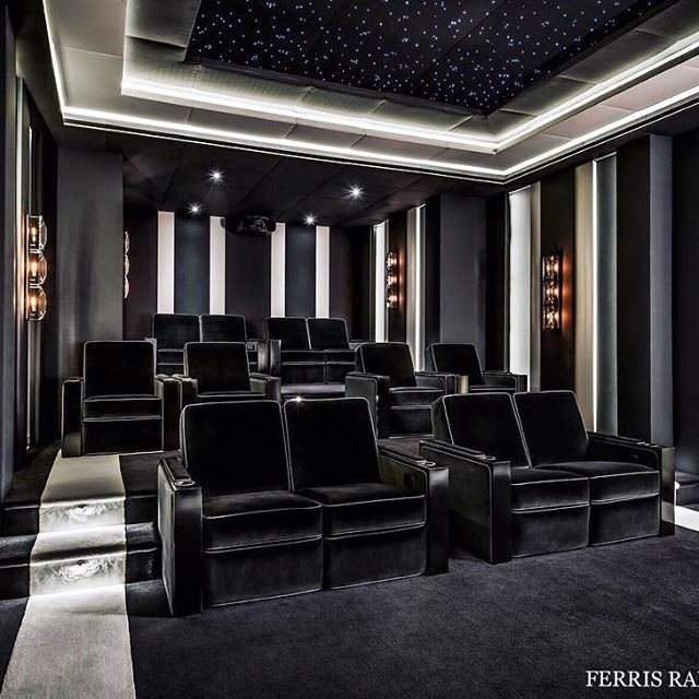 Smart Home Design, Home Theater Rooms, Top