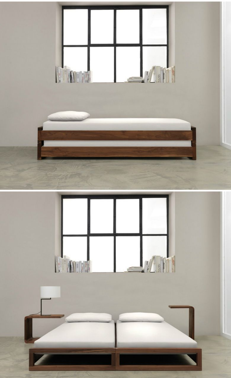 10 great space saving beds vizual art pinterest m bel g stebett und bett. Black Bedroom Furniture Sets. Home Design Ideas