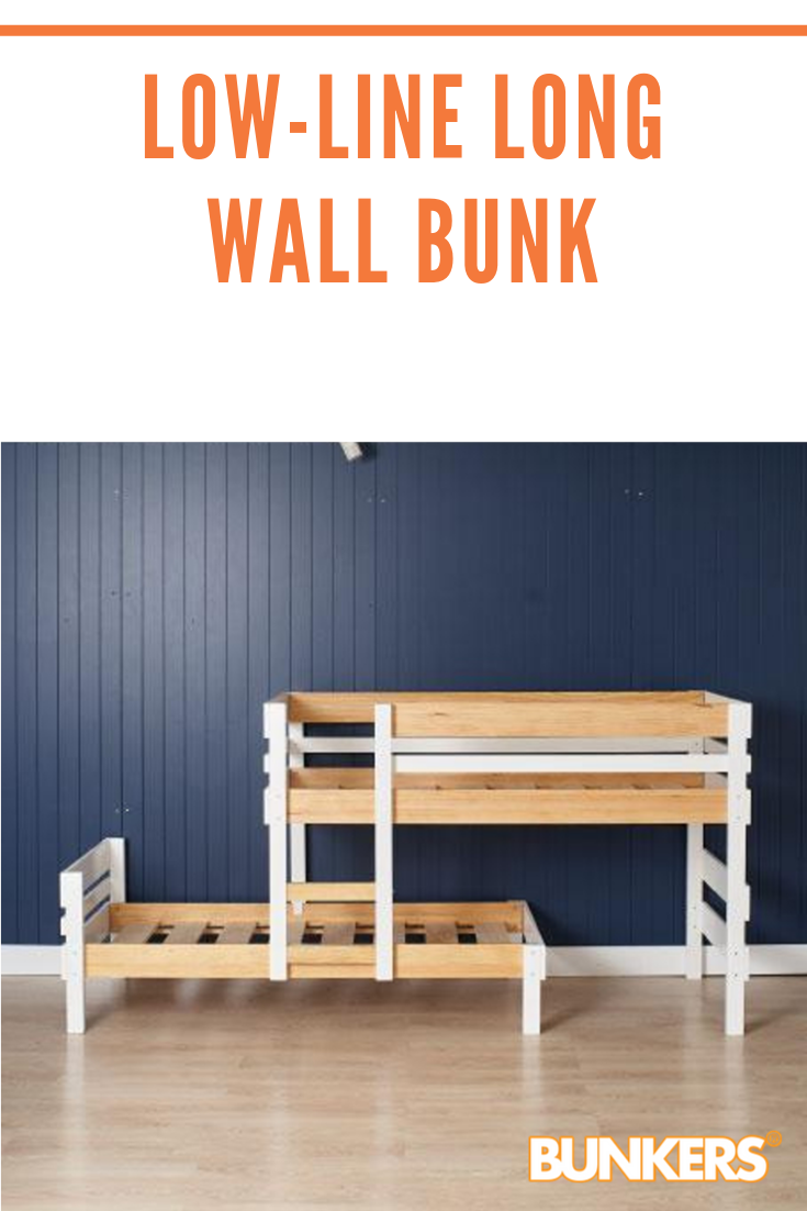 Your new low height longwall bunk bed is designed to give
