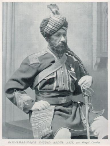 Rissaldar-Major Sayyid Abdul Aziz 5th Bengal Cavalry