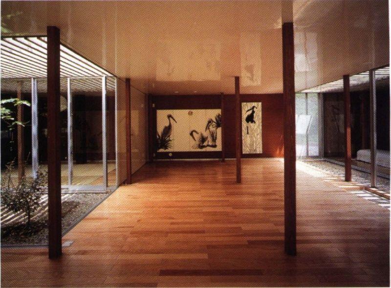 Ryue Nishizawa nesting Weekend house, House, Ryue
