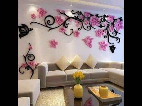 Attracting 3D Wall Stickers for Your Sweet Home Decoration - YouTube