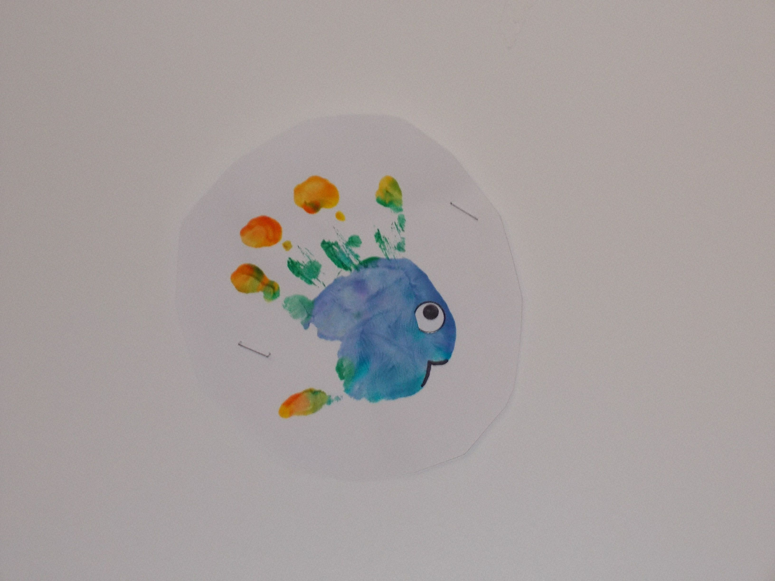 Rainbow Fish Worksheet For Preschool