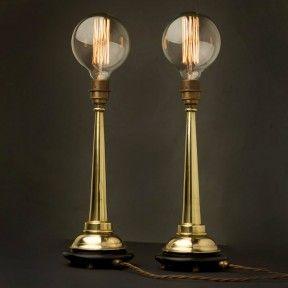 Cool Standing Lamps custom made brass standing lamps. cool. :) | lighting | pinterest