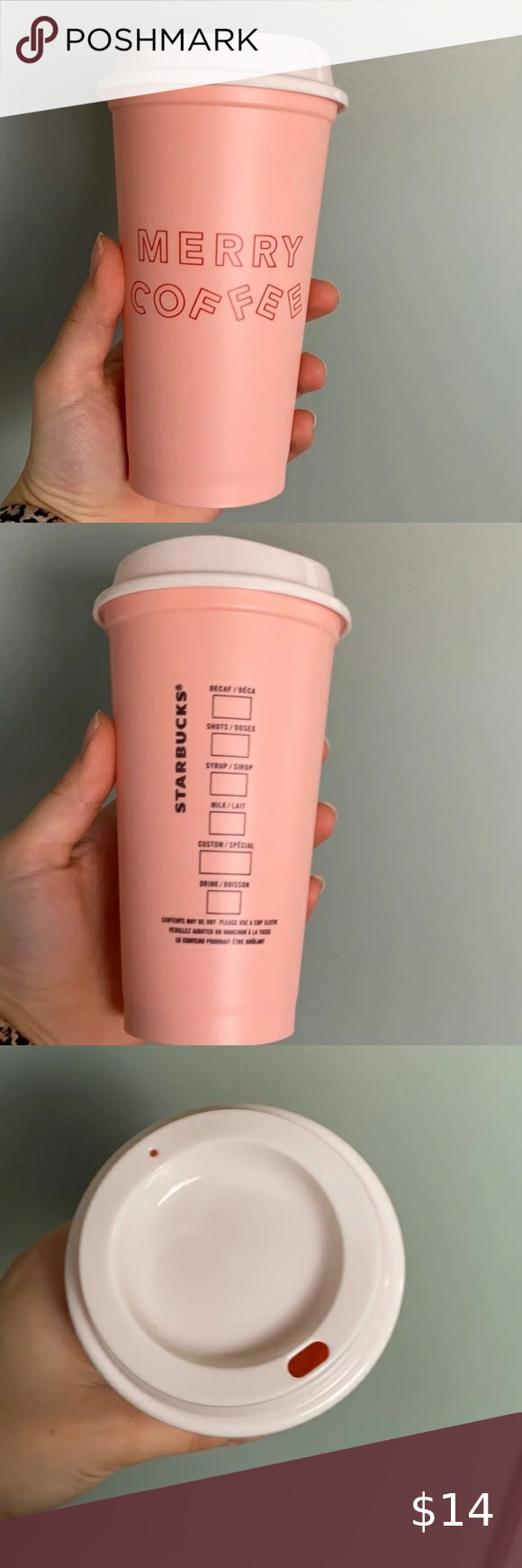 NEW Starbucks reusable coffee cup in 2020 Reusable