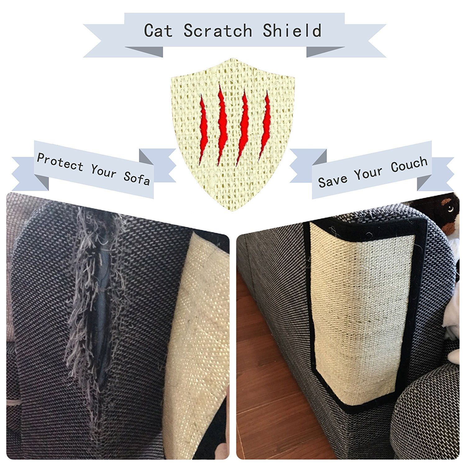 Cat Scratch Mat Playing Flexible Scratching Pad Catnip Rod Natural Sisal Post For Tree Small Size