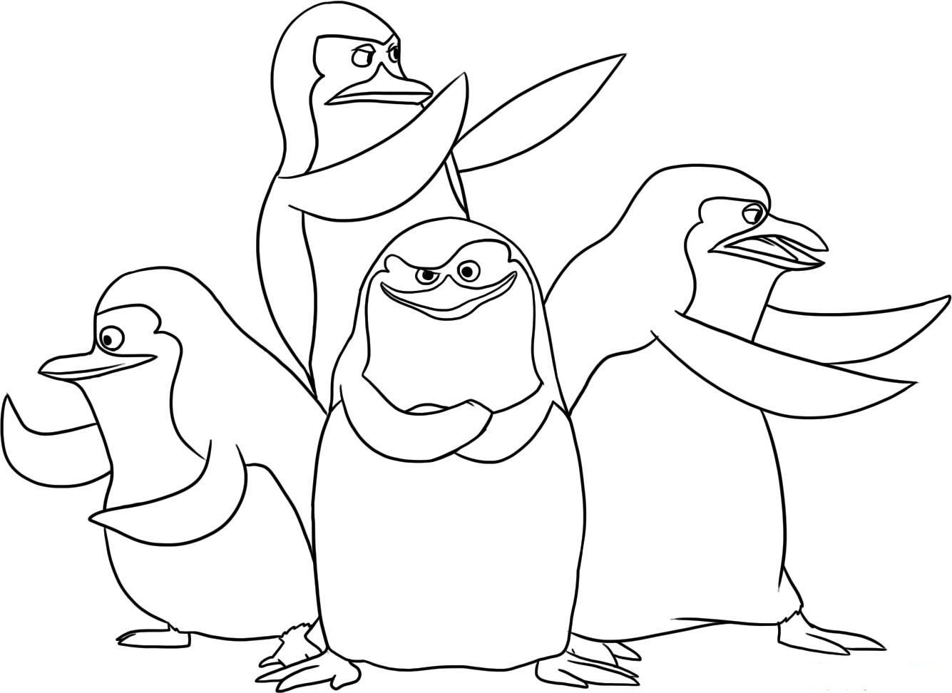 Baby animals coloring pages best coloring pictures pictures to pin on - Find This Pin And More On Madagascar Coloring Pages By Wandakelly0580