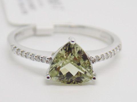 1.3 Ct. Zultanite & .06 Ct. Diamond Ring 14k Solid Gold NWT Rare & Natural