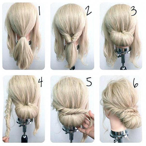 Unique Chign Easy Prom Hairstyles For Long Hair Cute Formal Hairstyles For Short Hair Easy Formal Hair Hair Styles Medium Hair Styles Simple Wedding Hairstyles