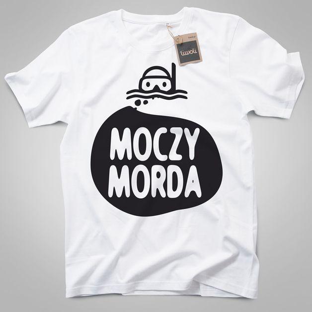 38e20e1d166f23 koszulka męska NUREK MOCZYMORDA - TiwoliShop - Koszulki z nadrukiem Odzież  męska | Etsy PL