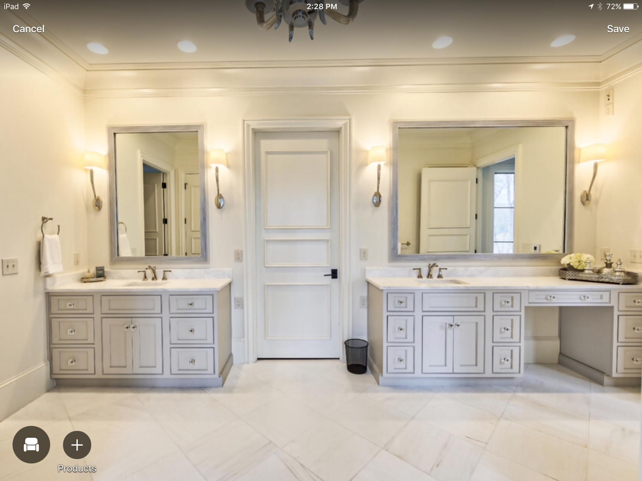 master bath vanity sizes Master bathroom layout, Small