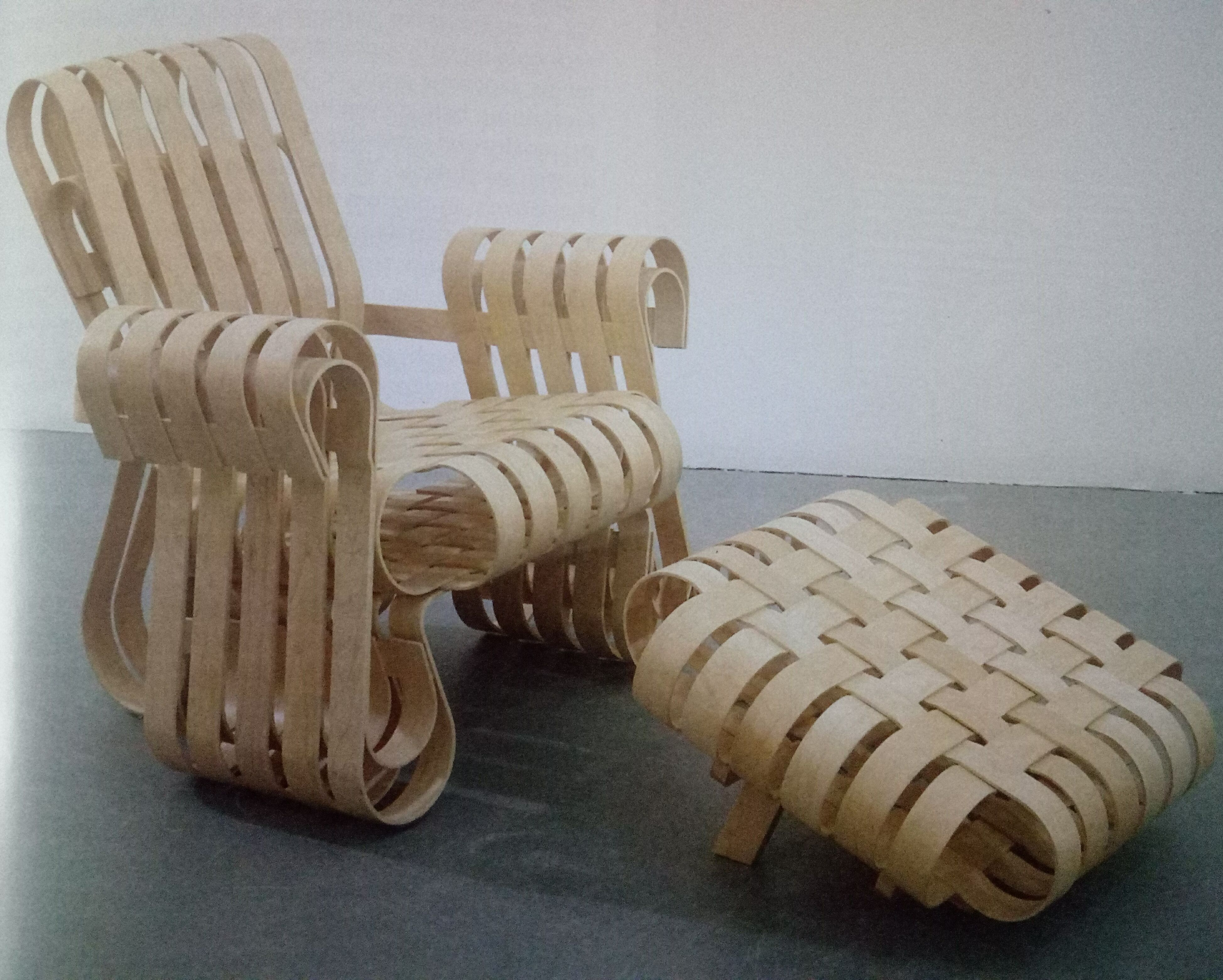 Frank Gehry, 1993 Floor chair, Home decor, Furniture